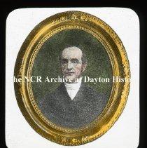 Image of NCR.1998.L0010.022 - Lantern Slides - Prominent Daytonians -  Rev. John Galloway