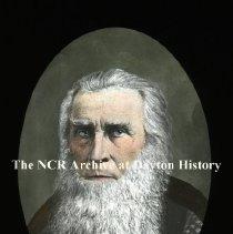 Image of NCR.1998.L0010.047 - Lantern Slides - Prominent Daytonians -Geo. Holt 1790-1871