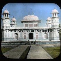 Image of NCR.1998.L0166.056 - Lantern Slides - Agra, India - Prime Minister's Tomb