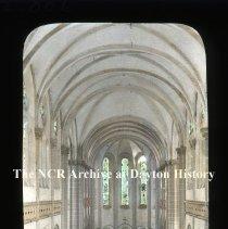Image of NCR.1998.L0172.006 - Lantern Slides - Port Au Prince, Haiti - Interior Cathedral