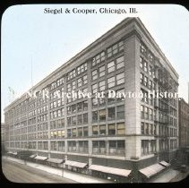 Image of NCR.1998.L0303.124 - Lantern Slides - Misc. Stores - Siegel & Cooper - Chicago, IL
