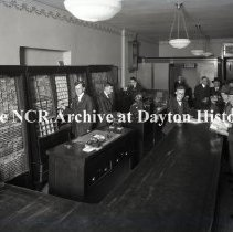 Image of NCR.1998.LRN014.004 - Nitrate Negative  -  Dayton users - Consolidated City Ticket Office - Gibbons Hotel Bldg. - Dayton, OH - May 14, 1921