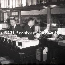 Image of NCR.1998.LRN063.001 - Nitrate negative -  Bank - Union National Bank - Youngstown, OH - Sept 11, 1934 - Class 2000 Installation