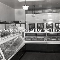 Image of NCR.1998.LRN007.004 - Nitrate Negative - Advertising Misc. (NCR News) -  Drummond & Sloan Grocery - 609 Salem Ave. - Dayton, OH - October 4, 1934 (1932 Dayton City Directory  lists chain of 4 stores: 2403  Far Hills Ave; 3223 Hoover Ave; 2100 N. Main St; and  609 Salem Ave.)