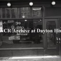 Image of NCR.1998.LRN009.014 - Nitrate Negative  -  Radio Cafe - 30  W. Fifth St.  Dayton OH - Class 1900 User - February 11, 1929