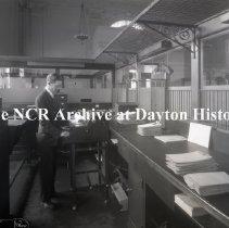 Image of NCR.1998.LRN192.001 - Nitrate Negative -Bank of Nutley Newark, NJ, July 16, 1927