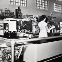 Image of NCR.1998.LRN214.034 - Safety Negatives - Grocery - F & B Food Center - Stanford, KY - May 2, 1952