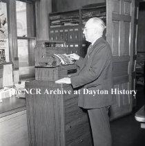 Image of Kent County Clerks Office-Grand Rapids, MI-Feb. 12, 1940