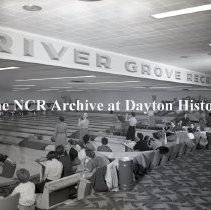 Image of NCR.1998.LRN248.008 - Safety Negative - Misc. Installation - River Grove Recreation, Chicago, IL, October 25, 1954