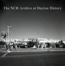 Image of NCR.1998.LRN258.022 - Safety Negative - Service Station - Jerry J. Kelly Service Station - Houston, TX - April 11, 1952
