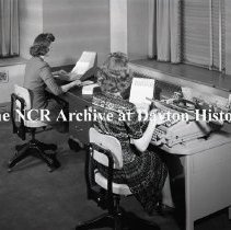 Image of NCR.1998.LRN304.015 - Safety Negative - Misc.-  Frigidaire - Accounting Machine Desks   April 7, 1944