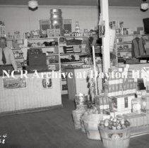 Image of NCR.1998.SRN067.003 - Safety Negative - Grocery - Farmer's Union Co-op Grocery - Baldwin, KS - January 30, 1948