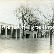 Image of P.1979.19.19 - Print, Photographic - 1913 Flood, Dayton OH - White City Amusement Park, east end of Helena Street