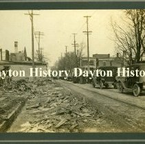Image of P.1993.04.03 - Print, Photographic - 1913 Flood - Dayton, OH