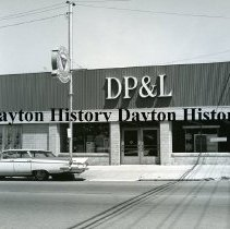 Image of DP&L office, Bellefontaine, OH June 1965