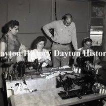 Image of P.2003.71.40252 - Negative, Film - Ansonia, OH - Royal Garment Company, October 1953