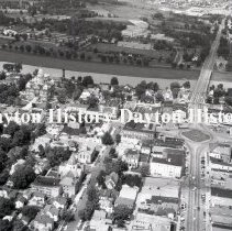 Image of P.2003.71.40968 - Negative, Film - Troy, OH - Aerial - August 9, 1968