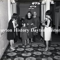 Image of P.2003.71.41547 - Negative, Film - Public Information - DP&L Christmas Sing at Victory Theater - Dayton, OH - December 1966