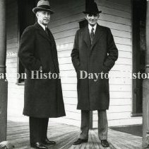 Image of Orville Wright attending the 1938 ceremonies in Greenfield Village dedicati