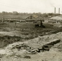 Image of P.2005.33.1168B - Photograph - Wright Field, Group of semi-permanent buildings, Dayton, OH