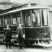 Image of P.2005.33.1232 - Photograph - Streetcars of Dayton, Ohio - Soldiers' Home
