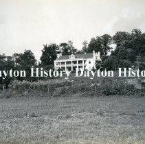 Image of P.2008.54.0984 - Photographic Print - William Stroop home - Van Buren Twp., 200 Tait Road, Kettering, OH 1913