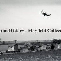 Image of P.2012.50.00599 - Glass-Plate Negative - Air manuevers, Johnson Flying Service.