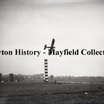 Image of P.2012.50.00634 - Glass-Plate Negative -  Air races at Wilbur Wright Field, 1924