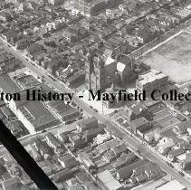 Image of P.2012.50.01597 - Glass-Plate Negative - St. Mary Church - Xenia Ave., Dayton, Ohio