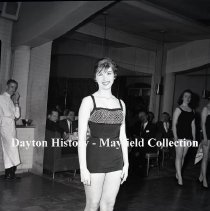 Image of P.2012.50.06738 - Negative, Film -  WING Radio - Beauty Contest - April 11, 1960