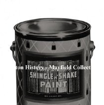 Image of P.2012.50.07738 - Negative, Film -  Lowe Bros -  Mr. Mills  -- Photo of a can of paint