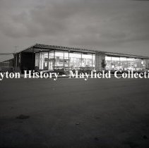 Image of P.2012.50.12173 - Negative, Film - Peffley Ford - Night Exterior - October 28, 1966