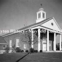 Image of Church- Fairmont Presbyterian, Far Hills Ave. Dayton, OH. November 12, 1957