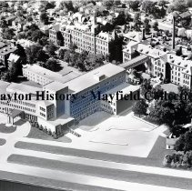 Image of St. Elizabeth Hospital - Exterior Aerial View - April 11, 1951