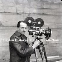 Image of P.2012.50.26206 - Nitrate, Film - W P Mayfield with motion picture camera