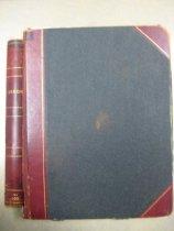 Image of Book - Adams Library Minutes of Trustees Meetings