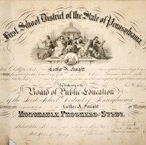 Image of 1940.200.1 - Certificate, Achievement