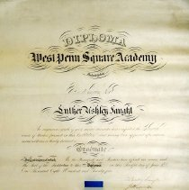 Image of 1940.200.2 - Certificate, Achievement