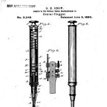Image of Snow Dental Plugger - Patent #9.248 Pg 1