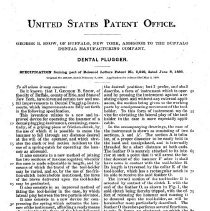 Image of Snow Dental Plugger - Patent #9.248 Pg 2