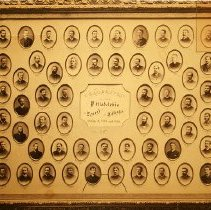 Image of Duplicate photograph of the graduates of the Philadelphia Dental College,18