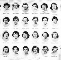 Image of Members of the Class of the Oral Hygiene Class of 1950