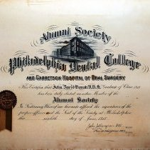 Image of 1958.200.6 - Certificate, Achievement