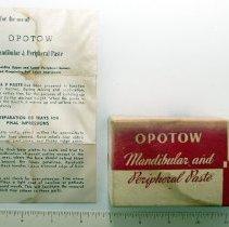 """Image of 1964.2.8 - Impression Paste, """"Opotow"""""""