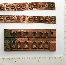 Image of FIC09.15.40 - Tooth Molds, Copper Plate (3)