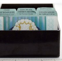Image of FIC09.16.60 - Prosthodontic Index Cards, Illustrated