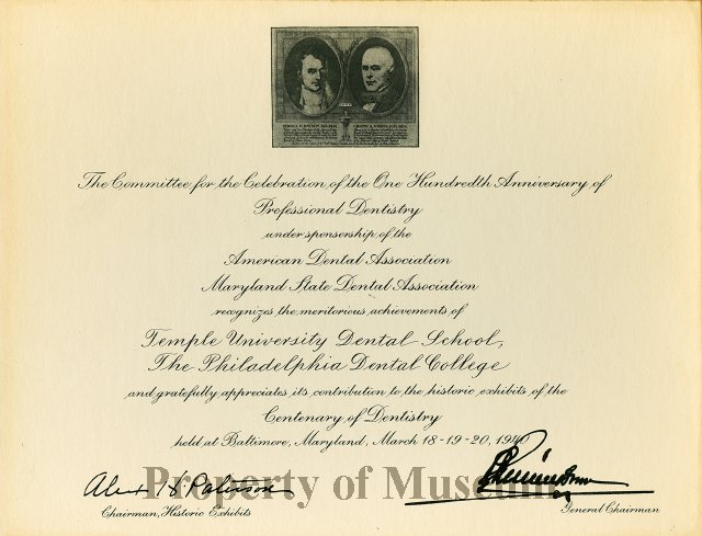 FIC09 209 1 - Certificate, Commemorative