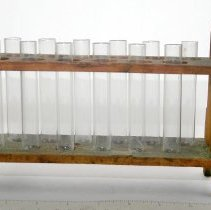 Image of Test Tube Rack with Tubes