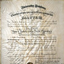 Image of 1958.200.1 - Certificate, Achievement