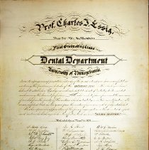 Image of Dental Department Award - Charles Essig-1879